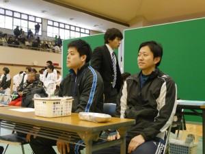 上まて先生&橋本先生